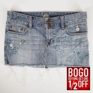 Abercrombie & Fitch | Denim Mini Skirt (Size 2)